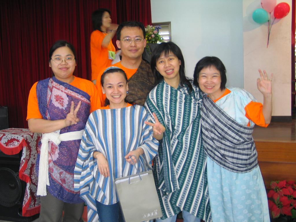 2004年5月壯圍福音隊