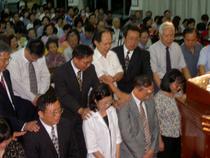2003年建堂五十週年特會按立長老