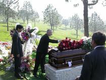 2005.1.22吳勇長老追思安葬禮拜於LA