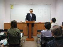 2004年3月 信仰講座班紀實  吳紹楨長老授課中